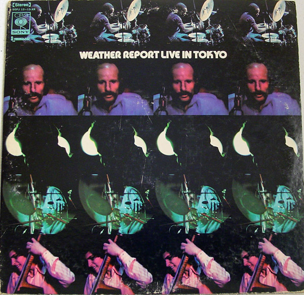 WEATHER REPORT - Live in Tokyo cover
