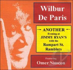 WILBUR DE PARIS - Another Evening at Jimmy Ryan's cover