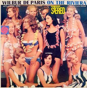WILBUR DE PARIS - On the Riviera cover