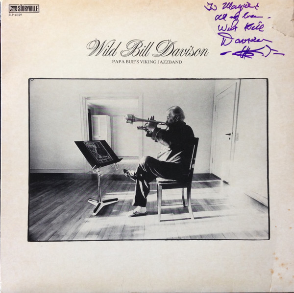 WILD BILL DAVISON - Wild Bill Davison with Papa Bue's Viking Jazz Band cover
