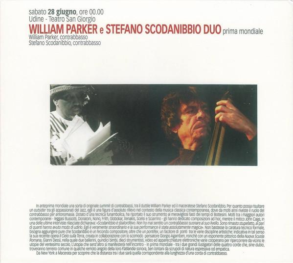 WILLIAM PARKER - William Parker & Stefano Scodanibbio : Bass Duo cover