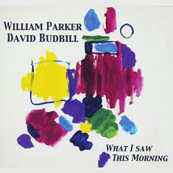 WILLIAM PARKER - William Parker & David Budbill ‎: What I Saw This Morning cover