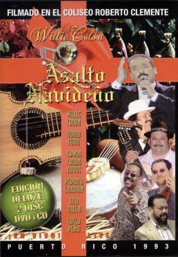 WILLIE COLÓN - Asalto Navideno - Puerto Rico 1993 cover