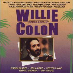 WILLIE COLÓN - Historia Musical De Willie Colon cover