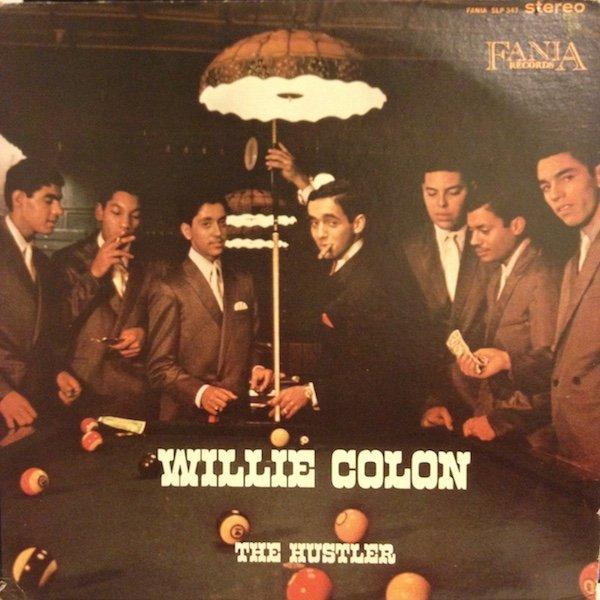 WILLIE COLÓN - The Hustler cover