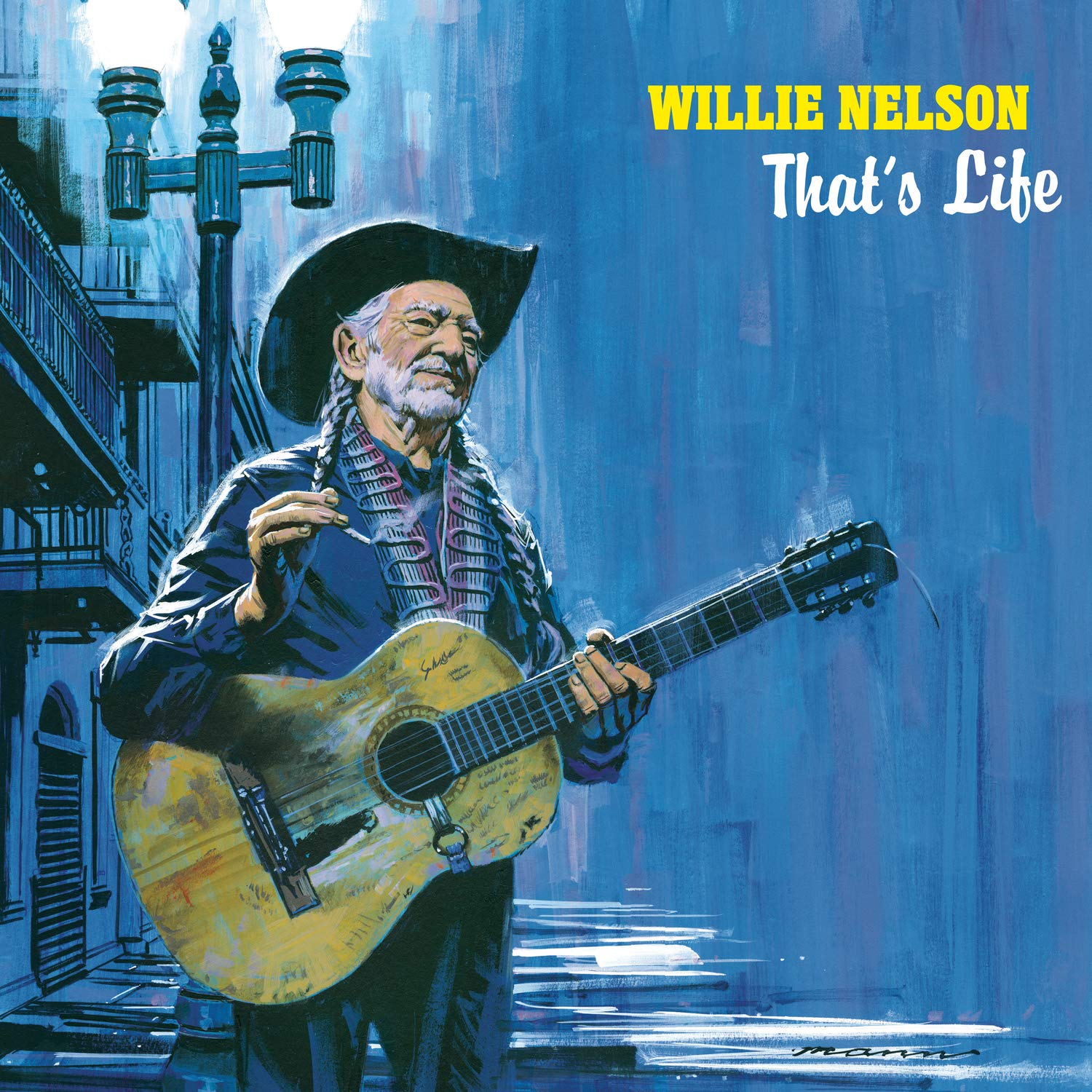 WILLIE NELSON - That's Life cover