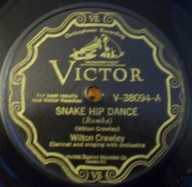 WILTON CRAWLEY - Snake Hip Dance / She's Driving Me Wild cover