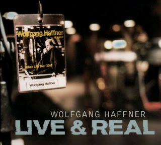 WOLFGANG HAFFNER - Live & Real cover