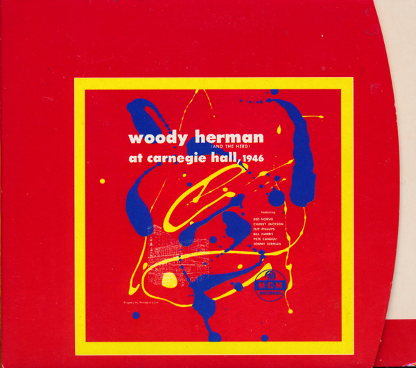 WOODY HERMAN - At Carnegie Hall, 1946 cover