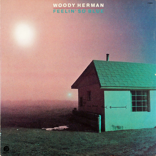 WOODY HERMAN - Feelin' So Blue cover
