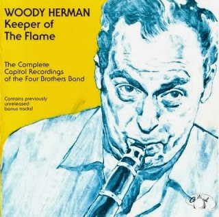 WOODY HERMAN - Keeper Of The Flame : The Complete Capitol Recordings of the Four Brothers Band cover