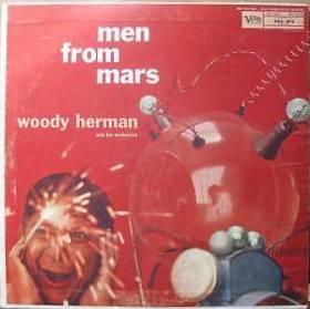 WOODY HERMAN - Men From Mars cover