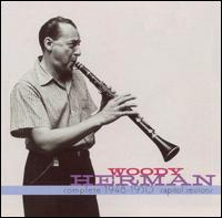 WOODY HERMAN - The Complete Capitol Recordings of Woody Herman cover