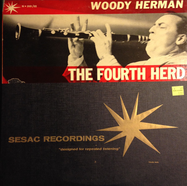 WOODY HERMAN - The Fourth Herd cover