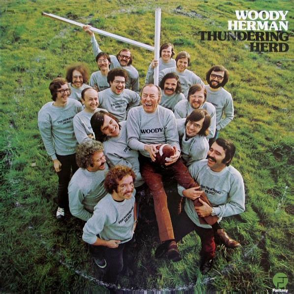 WOODY HERMAN - Thundering Herd cover