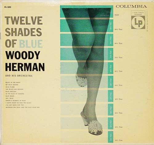 WOODY HERMAN - Twelve Shades Of Blue cover