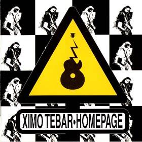 XIMO TÉBAR - Homepage cover