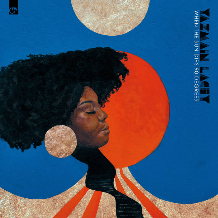 YAZMIN LACEY - When The Sun Dips 90 Degrees cover