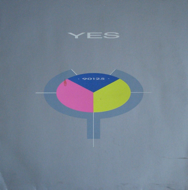 YES - 90125 cover