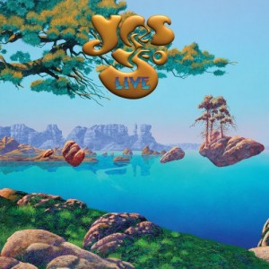 YES - Yes 50 Live cover