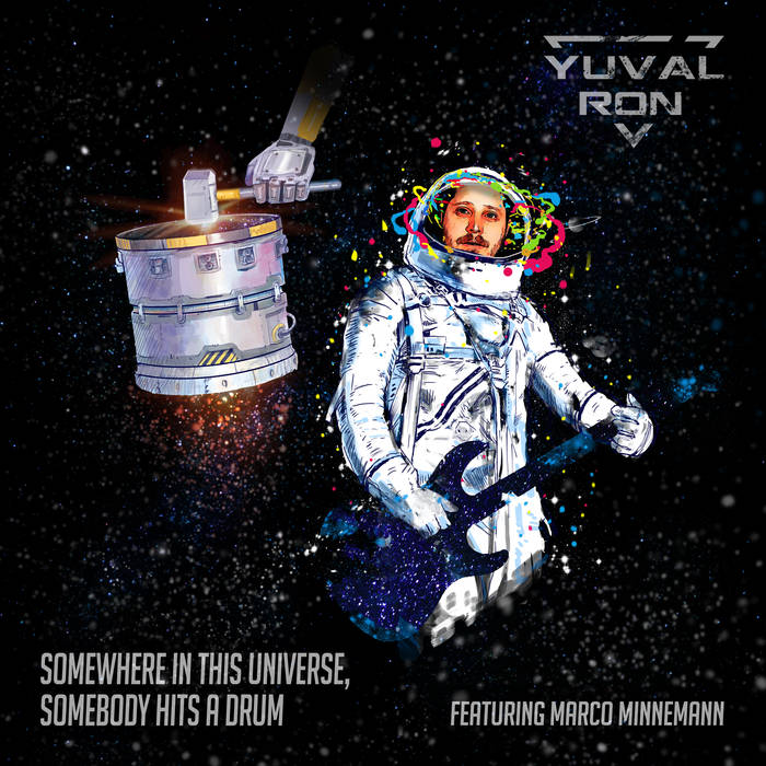 YUVAL RON - Somewhere in This Universe, Somebody Hits a Drum (ft. Marco Minnemann) cover