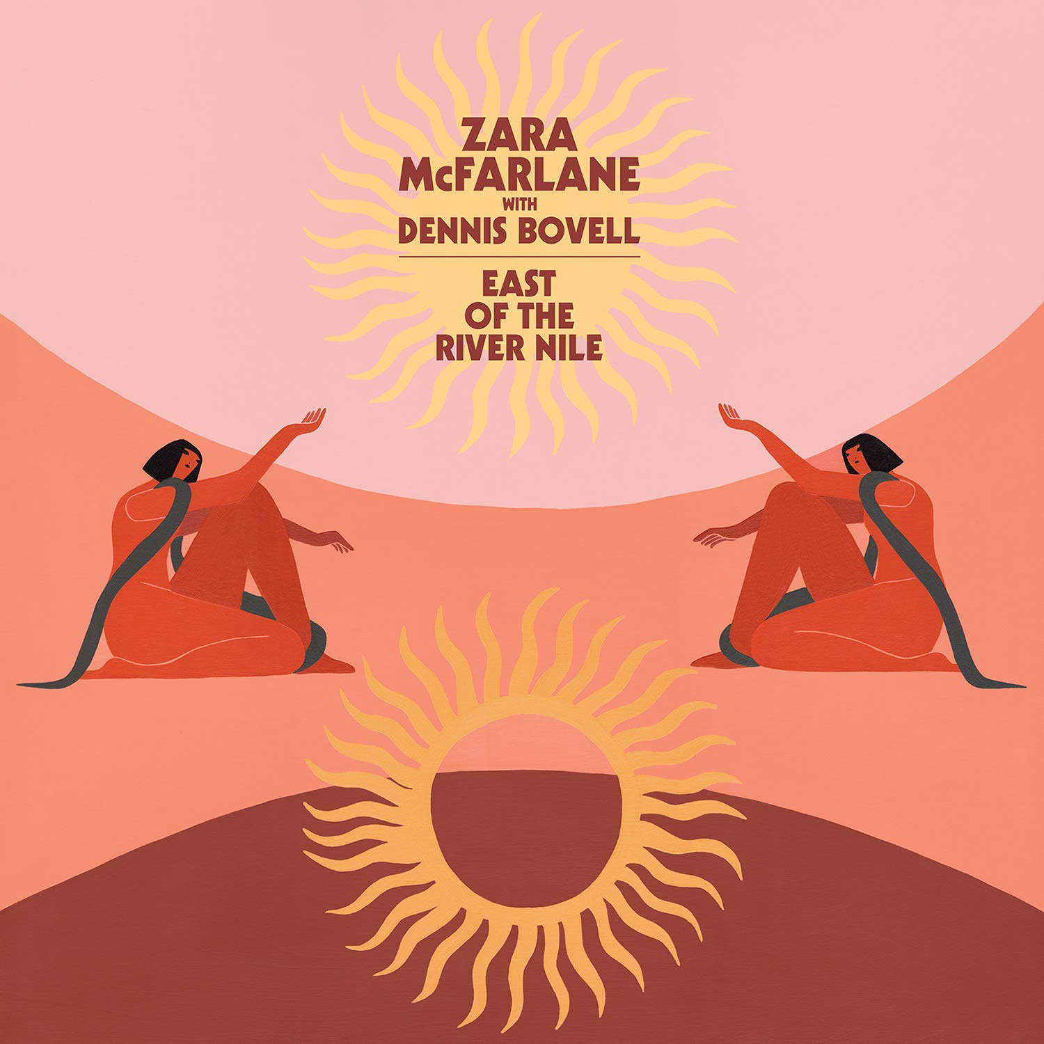 ZARA MCFARLANE - East Of The River Nile cover
