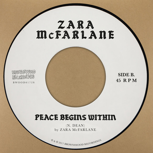 ZARA MCFARLANE - Peace Begins Within cover