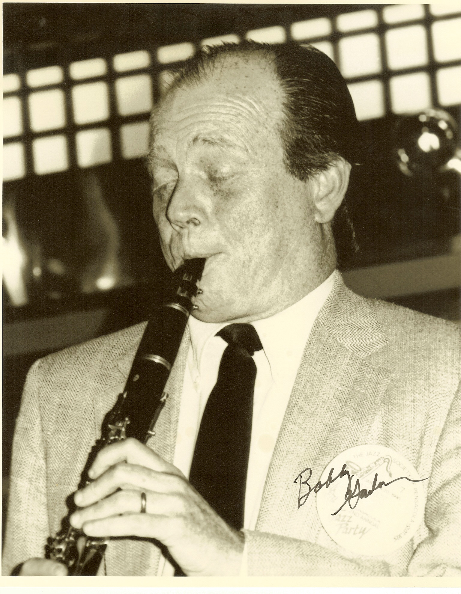 BOBBY GORDON (CLARINET) picture