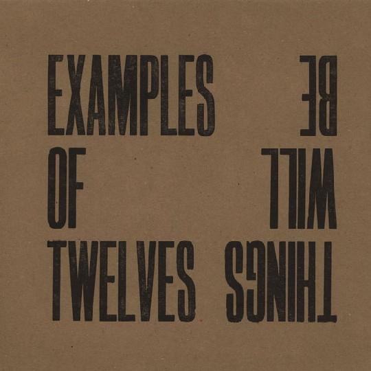 EXAMPLES OF TWELVES picture