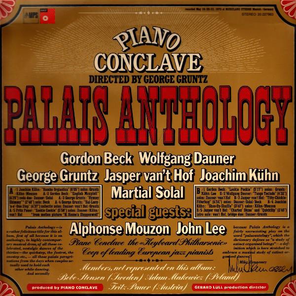 PIANO CONCLAVE (GEORGE GRUNTZ PIANO CONCLAVE) picture