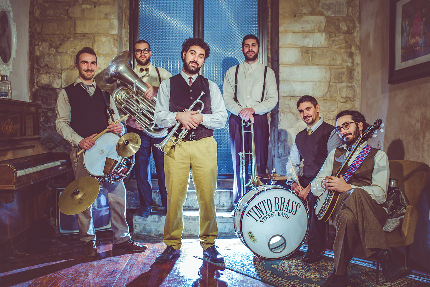 TINTO BRASS STREET BAND picture