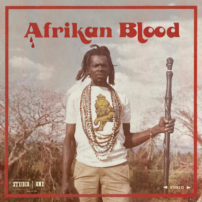 10000 VARIOUS ARTISTS - Afrikan Blood cover