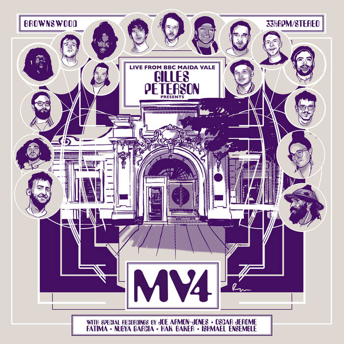10000 VARIOUS ARTISTS - Gilles Peterson Presents : MV4 cover
