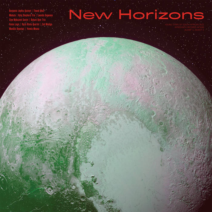 10000 VARIOUS ARTISTS - New Horizons cover