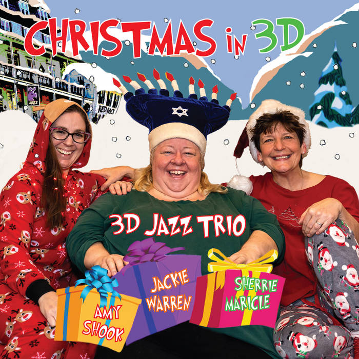 3D JAZZ TRIO - Christmas in 3D cover
