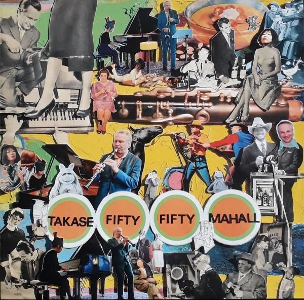 AKI TAKASE - Aki Takase, Rudi Mahall : Fifty Fifty cover