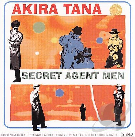 AKIRA TANA - Secret Agent Men cover