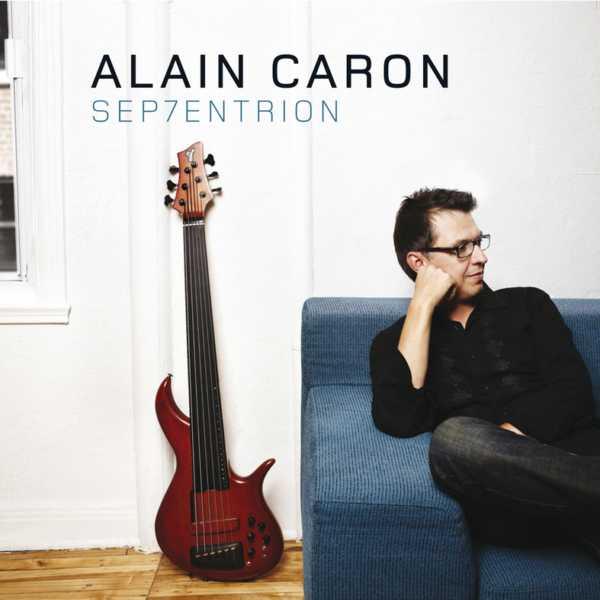 ALAIN CARON - Sep7entrion cover