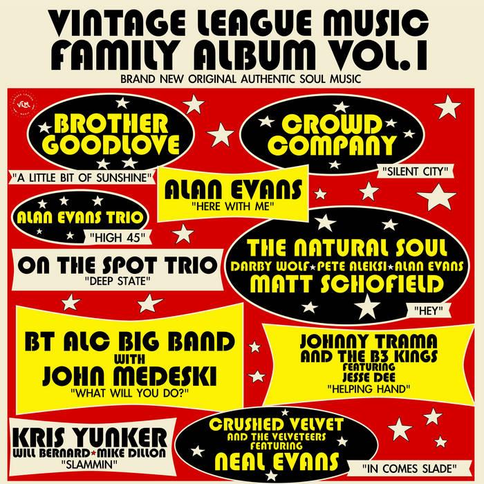 ALAN EVANS - Vintage League Music – Family Album Vol. 1 cover