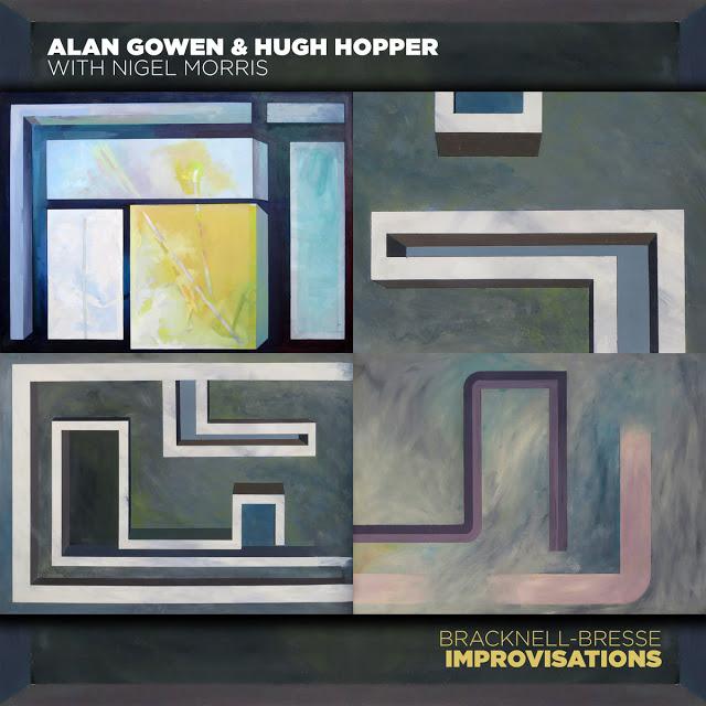 ALAN GOWEN - Alan Gowen & Hugh Hopper with Nigel Morris : Bracknell - Bresse Improvisations cover