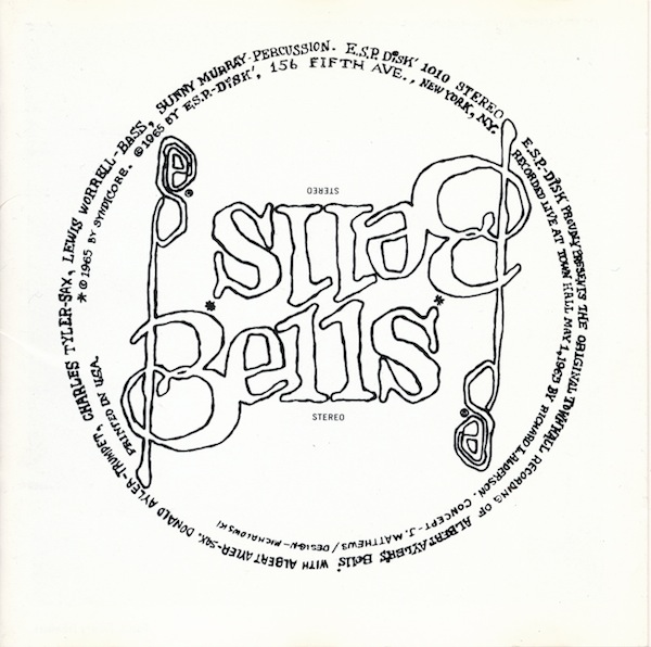 ALBERT AYLER - Bells / Prophecy cover