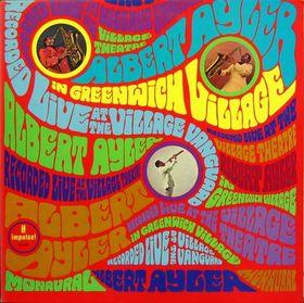ALBERT AYLER - In Greenwich Village cover