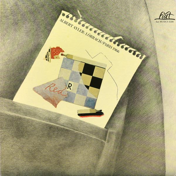 ALBERT AYLER - Lörrach / Paris 1966 cover