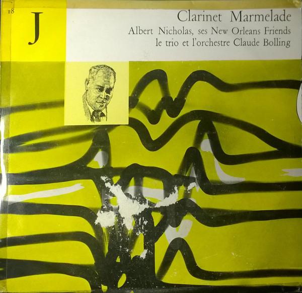 ALBERT NICHOLAS - Clarinet Marmelade cover