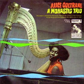 ALICE COLTRANE - A Monastic Trio cover