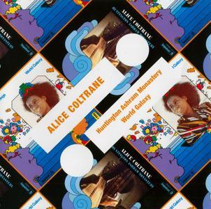 ALICE COLTRANE - Huntington Ashram Monastery/World Galaxy cover
