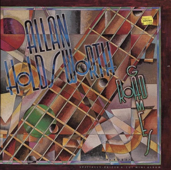 ALLAN HOLDSWORTH - Road Games cover