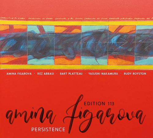 AMINA FIGAROVA - Persistence cover