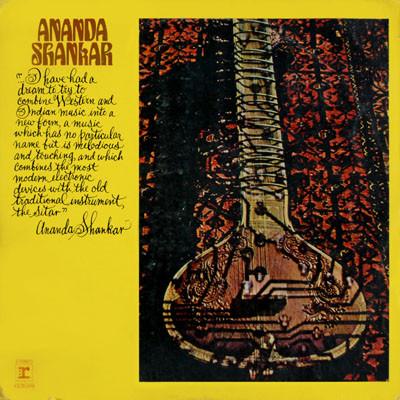 ANANDA SHANKAR - Ananda Shankar cover