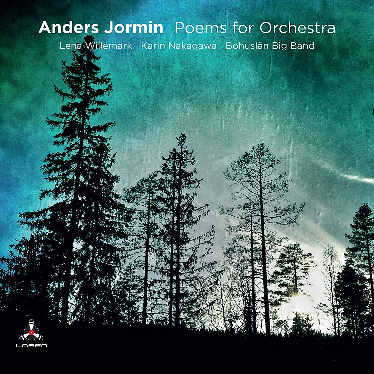 ANDERS JORMIN - Poems For Orchestra cover